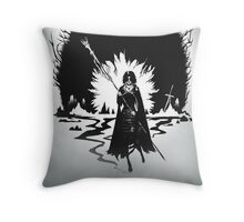 THE MAIDEN IN BLACK Throw Pillow