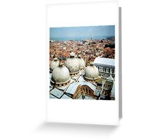 5 domes Greeting Card