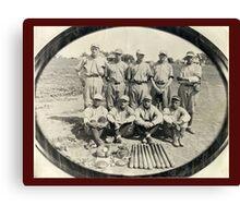 Ark Valley Gas Company Baseball Team -1924 Canvas Print