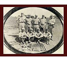 Ark Valley Gas Company Baseball Team -1924 Photographic Print