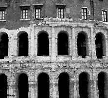 Fall of the Roman Empire by Photography  by Mathilde