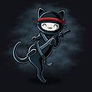 Ninja Cat by Stephanie Whitcomb