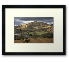 Rydal Water and Nab Scar Framed Print