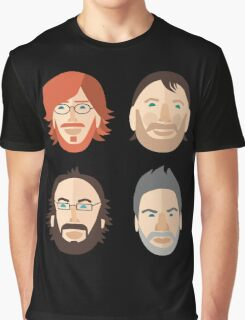 Trey, Fish, Mike, Page as Vector Characters Graphic T-Shirt