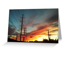 Summer Sunsets.... Greeting Card