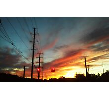 Summer Sunsets.... Photographic Print