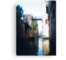 castle bridge Canvas Print