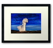 Faithfully reaching for the stars Framed Print