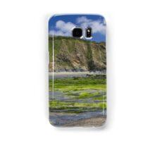 A green beach Samsung Galaxy Case/Skin