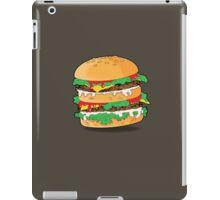 Cartoon Hamburger iPad Case/Skin