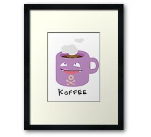 Koffee Framed Print