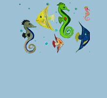 Fish mural copy right 2015 Unisex T-Shirt