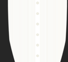 FormalFriday Tuxedo Shirt Sticker