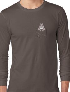 Squirrel in my pocket! Long Sleeve T-Shirt