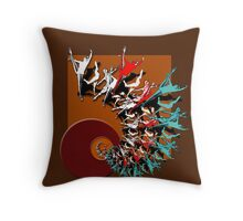 dream dancing Throw Pillow