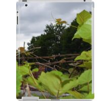 Vines and wire iPad Case/Skin