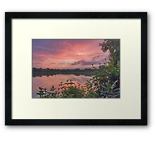 Watercolor Eve Framed Print