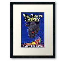 The Grape Gatsby Framed Print