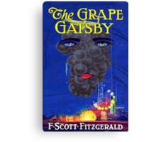 The Grape Gatsby Canvas Print