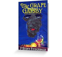 The Grape Gatsby Greeting Card