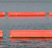 Lake Barriers Sticker