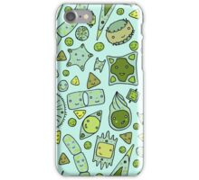 Tessellating Diatoms for skirts, duvets, notebooks, graphic tees etc iPhone Case/Skin