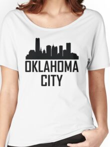 Skyline of Oklahoma City OK Women's Relaxed Fit T-Shirt