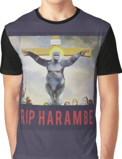 RIP Harambe - Son of God Graphic T-Shirt