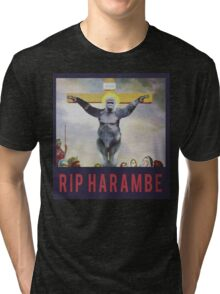 RIP Harambe - Son of God Tri-blend T-Shirt