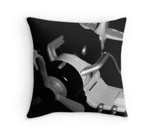 turbo prop Throw Pillow