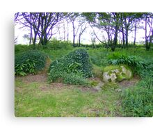 Sleeping Giantess, Heligan Canvas Print