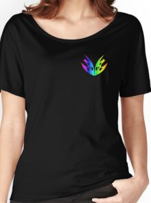 MLP - Cutie Mark Rainbow Special – Queen Chrysalis V2 Women's Relaxed Fit T-Shirt