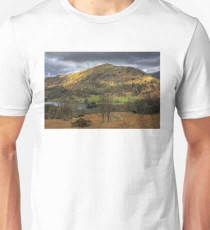 Rydal Water and Nab Scar Unisex T-Shirt