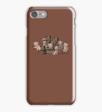 We Aim to Misbehave iPhone Case/Skin