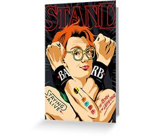 Stand Greeting Card