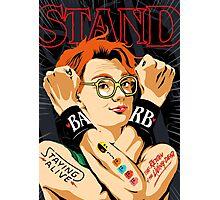 Stand Photographic Print