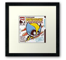 Pandarine Comic Book Cover Framed Print