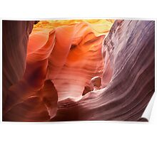 Beauty in an alien world... Rattlesnake Canyon Poster