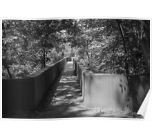 Walkway to James River Park Poster