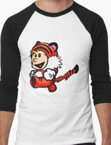Super Calvin and Hobbes Men's Baseball ¾ T-Shirt