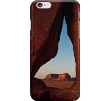 Eagle through Tear Drop iPhone Case/Skin