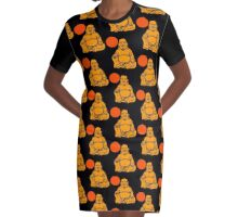 BUDDHA-3 Graphic T-Shirt Dress