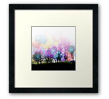 Jelly Bean Trees Framed Print
