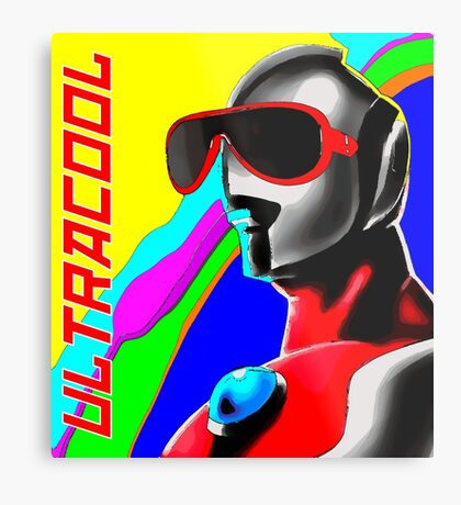 Ultracool Metal Print