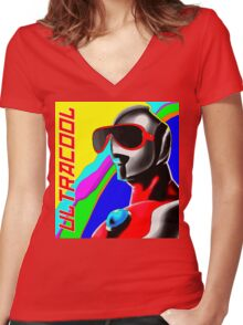 Ultracool Women's Fitted V-Neck T-Shirt