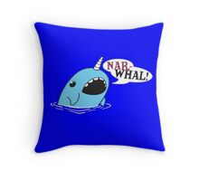 Narwhal! Throw Pillow