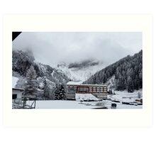 Snowy Trees - Austria Art Print