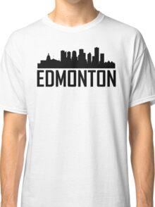 Skyline of Edmonton AB Classic T-Shirt