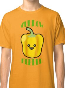 Yellow Pepper With Title or Words Classic T-Shirt