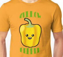 Yellow Pepper With Title or Words Unisex T-Shirt
